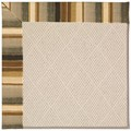 Capel Rugs Creative Concepts White Wicker - Kalani Coal (330) Rectangle 3