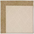 Capel Rugs Creative Concepts White Wicker - Tampico Rattan (716) Rectangle 3