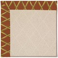 Capel Rugs Creative Concepts White Wicker - Bamboo Cinnamon (856) Rectangle 3