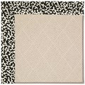 Capel Rugs Creative Concepts White Wicker - Coral Cascade Ebony (385) Rectangle 4