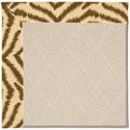 Capel Rugs Creative Concepts White Wicker - Couture King Chestnut (756) Rectangle 4