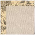 Capel Rugs Creative Concepts White Wicker - Cayo Vista Graphic (315) Rectangle 5
