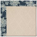 Capel Rugs Creative Concepts White Wicker - Bandana Indigo (465) Rectangle 6