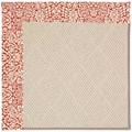 Capel Rugs Creative Concepts White Wicker - Imogen Cherry (520) Rectangle 6