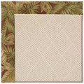 Capel Rugs Creative Concepts White Wicker - Bahamian Breeze Cinnamon (875) Rectangle 7