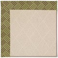 Capel Rugs Creative Concepts White Wicker - Dream Weaver Marsh (211) Rectangle 8