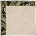 Capel Rugs Creative Concepts White Wicker - Bahamian Breeze Coal (325) Rectangle 8