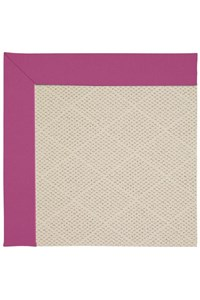 Capel Rugs Creative Concepts White Wicker - Canvas Hot Pink (515) Rectangle 9' x 12' Area Rug