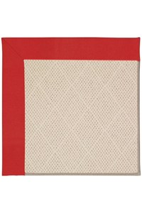 Capel Rugs Creative Concepts White Wicker - Canvas Jockey Red (527) Rectangle 9' x 12' Area Rug