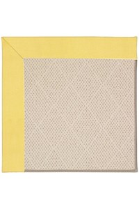 Capel Rugs Creative Concepts White Wicker - Canvas Buttercup (127) Rectangle 12' x 15' Area Rug