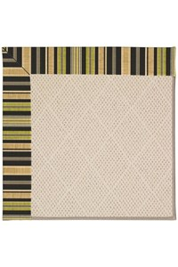 Capel Rugs Creative Concepts White Wicker - Vera Cruz Coal (350) Rectangle 12' x 15' Area Rug