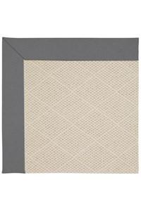 Capel Rugs Creative Concepts White Wicker - Canvas Charcoal (355) Rectangle 12' x 15' Area Rug