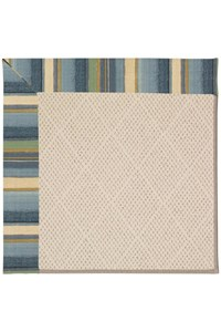 Capel Rugs Creative Concepts White Wicker - Kalani Ocean (417) Rectangle 12' x 15' Area Rug