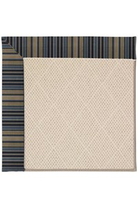 Capel Rugs Creative Concepts White Wicker - Vera Cruz Ocean (445) Rectangle 12' x 15' Area Rug