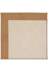 Capel Rugs Creative Concepts White Wicker - Vierra Brick (530) Rectangle 12' x 15' Area Rug