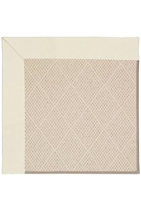 Capel Rugs Creative Concepts White Wicker - Canvas Ivory (605) Rectangle 12' x 15' Area Rug