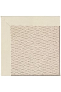 Capel Rugs Creative Concepts White Wicker - Canvas Sand (712) Rectangle 12' x 15' Area Rug