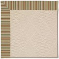 Capel Rugs Creative Concepts White Wicker - Dorsett Autumn (714) Rectangle 12