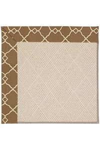 Capel Rugs Creative Concepts White Wicker - Arden Chocolate (746) Rectangle 12' x 15' Area Rug