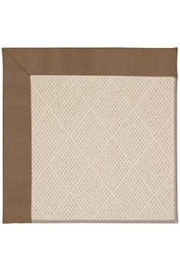 Capel Rugs Creative Concepts White Wicker - Canvas Cocoa (747) Rectangle 12' x 15' Area Rug