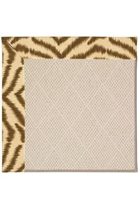 Capel Rugs Creative Concepts White Wicker - Couture King Chestnut (756) Rectangle 12' x 15' Area Rug