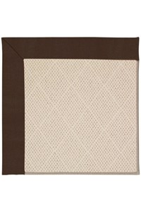 Capel Rugs Creative Concepts White Wicker - Canvas Bay Brown (787) Rectangle 12' x 15' Area Rug