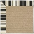Capel Rugs Creative Concepts Sisal - Down The Lane Ebony (370) Octagon 4