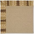 Capel Rugs Creative Concepts Sisal - Java Journey Chestnut (750) Octagon 4