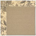 Capel Rugs Creative Concepts Sisal - Cayo Vista Graphic (315) Octagon 6