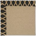 Capel Rugs Creative Concepts Sisal - Bamboo Coal (356) Octagon 6