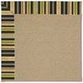Capel Rugs Creative Concepts Sisal - Vera Cruz Coal (350) Octagon 10