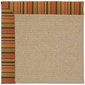 Capel Rugs Creative Concepts Sisal - Tuscan Stripe Adobe (825) Octagon 12