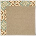 Capel Rugs Creative Concepts Sisal - Shoreham Spray (410) Runner 2