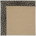 Capel Rugs Creative Concepts Sisal - Wild Thing Onyx (396) Runner 2