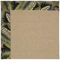 Capel Rugs Creative Concepts Sisal - Bahamian Breeze Coal (325) Rectangle 4
