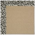 Capel Rugs Creative Concepts Sisal - Coral Cascade Ebony (385) Rectangle 4