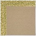 Capel Rugs Creative Concepts Sisal - Coral Cascade Avocado (225) Rectangle 5