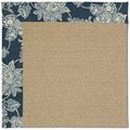 Capel Rugs Creative Concepts Sisal - Bandana Indigo (465) Rectangle 6