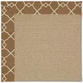 Capel Rugs Creative Concepts Sisal - Arden Chocolate (746) Rectangle 6