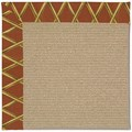 Capel Rugs Creative Concepts Sisal - Bamboo Cinnamon (856) Rectangle 8