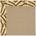 Capel Rugs Creative Concepts Sisal - Couture King Chestnut (756) Rectangle 8