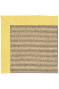 Capel Rugs Creative Concepts Sisal - Canvas Buttercup (127) Rectangle 12' x 15' Area Rug