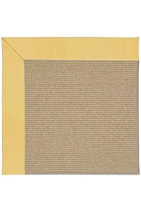 Capel Rugs Creative Concepts Sisal - Canvas Canary (137) Rectangle 12' x 15' Area Rug