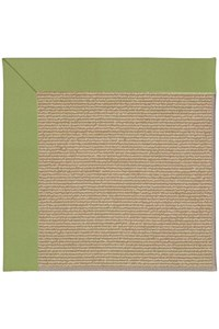 Capel Rugs Creative Concepts Sisal - Canvas Citron (213) Rectangle 12' x 15' Area Rug
