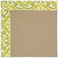 Capel Rugs Creative Concepts Sisal - Shoreham Kiwi (220) Rectangle 12