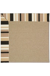 Capel Rugs Creative Concepts Sisal - Granite Stripe (335) Rectangle 12' x 15' Area Rug