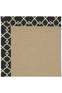 Capel Rugs Creative Concepts Sisal - Arden Black (346) Rectangle 12' x 15' Area Rug