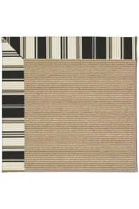 Capel Rugs Creative Concepts Sisal - Down The Lane Ebony (370) Rectangle 12' x 15' Area Rug