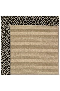 Capel Rugs Creative Concepts Sisal - Wild Thing Onyx (396) Rectangle 12' x 15' Area Rug