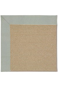 Capel Rugs Creative Concepts Sisal - Canvas Spa Blue (427) Rectangle 12' x 15' Area Rug